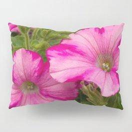 Pink Pansies Pillow Sham