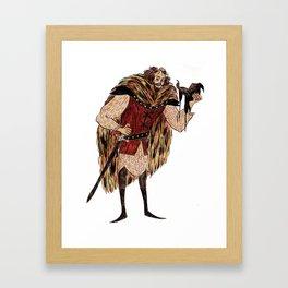 Godric Gryffindor Framed Art Print