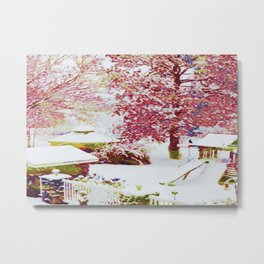 SNOW DAY - 015 Metal Print