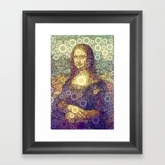 La Giocondigital Framed Art Print