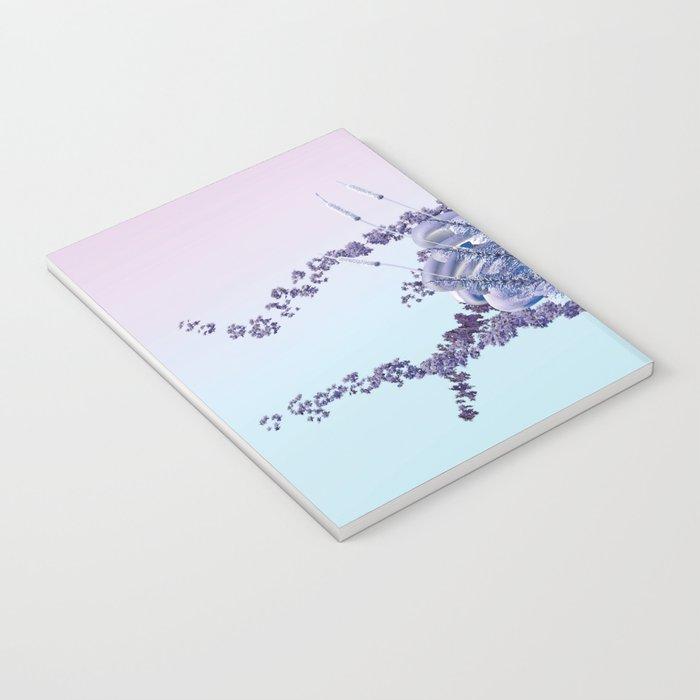 romantic swan couple Notebook