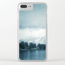 Arpy Lake Clear iPhone Case