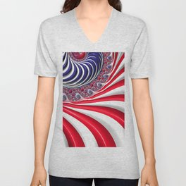 Oh, Long May it Wave! Unisex V-Neck