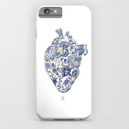 Broken heart - kintsugi iPhone Case