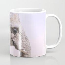 Elephant and Sunset Photography Coffee Mug