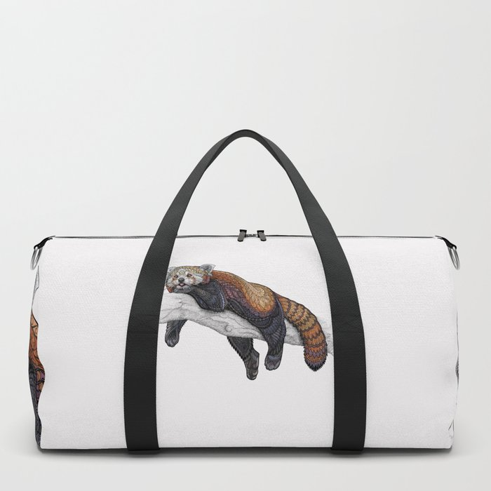 Red Panda Duffle Bag