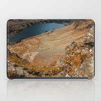hiking iPad Cases featuring Mountain hiking by Mariana Lisina
