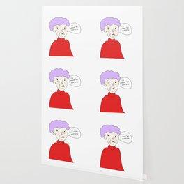 I'd Rather Be Knitting Wallpaper