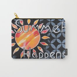 Summer Happens Carry-All Pouch
