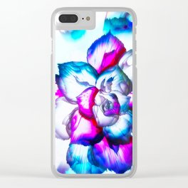 beAutiFully FloWer Clear iPhone Case
