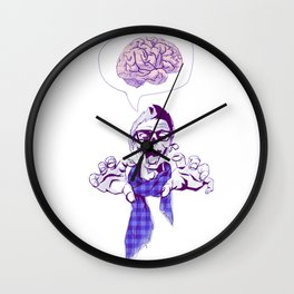 must.. have.. new.. iphone..  err i mean... brains... Wall Clock