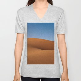 Desert Sand and Sky (Color) Unisex V-Neck