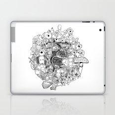 The princess and the Frog (3D papercut) Laptop & iPad Skin