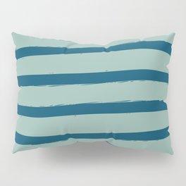 Paint Lines Turquoises Pillow Sham