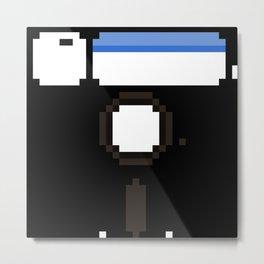 5¼-inch a BIG floppy Metal Print