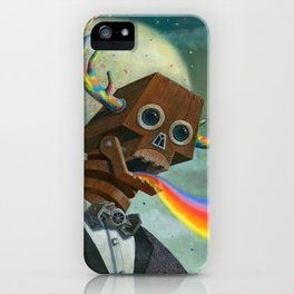 Observation Then Communication iPhone Case