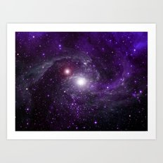 Newborn star Art Print