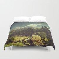 italian Duvet Covers featuring Italian Mountains by Dirk Wuestenhagen Imagery