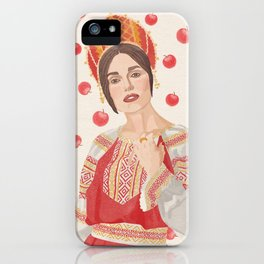 Russian Keira iPhone Case