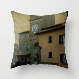 Cortona (Italy) Throw Pillow