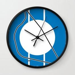 Reims Racetrack Wall Clock