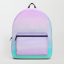 Touching Unicorn Girls Watercolor Abstract #1 #painting #decor #art #society6 Backpack