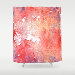 Symphony in red minor I Shower Curtain