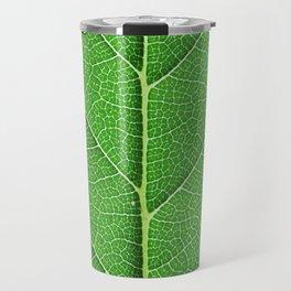Green Vein Life Travel Mug