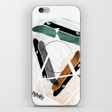 Skatestriangles iPhone & iPod Skin