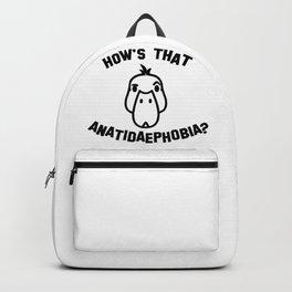 Anatidaephobia Backpack