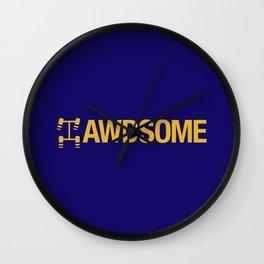AWDSOME v1 HQvector Wall Clock