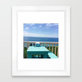 Blue Afternoon Framed Art Print