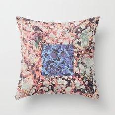 Inner Molecules Throw Pillow