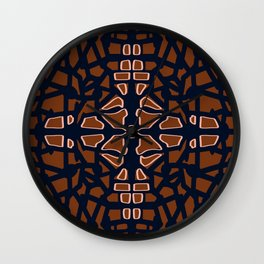 Traditional carving  Wall Clock