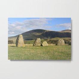 Castlerigg Stone Circle, Cumbria Metal Print