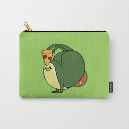 Working on myself Avocado Carry-All Pouch