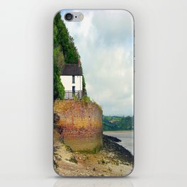 Dylan Thomas.The Boathouse. iPhone Skin