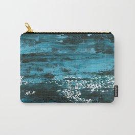 Deep Blue Stream Carry-All Pouch