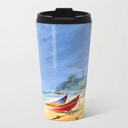 Puerto Rico Beach Travel Mug