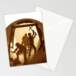 Miners (Mineurs) Stationery Cards
