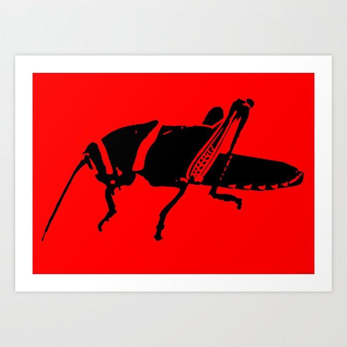 """""""Plague 8 - RED"""" Art Print"""