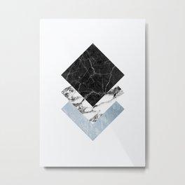 geometric 9 Metal Print