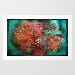 Relitto - Wreck Art Print
