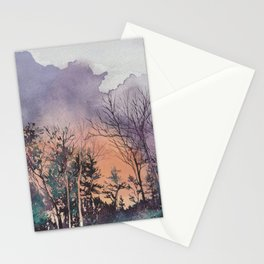 Clouds of Fire Stationery Cards