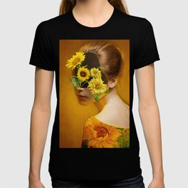 Sunflower Lady T-shirt