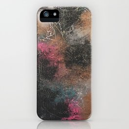 Fade Out iPhone Case