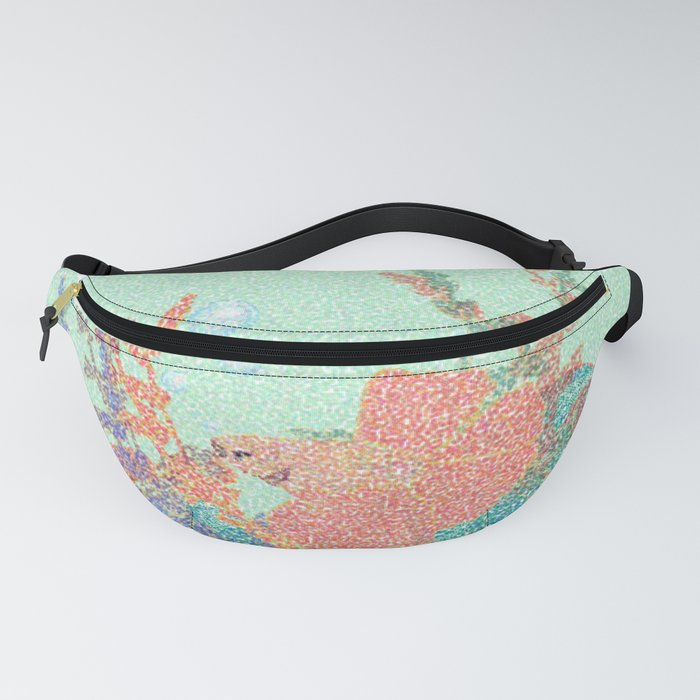 Anemone Coral Fish Mosaic Fanny Pack
