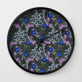 """William Morris """"Seaweed"""" 4. Wall Clock"""