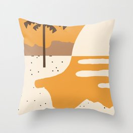 Tanned 2 Throw Pillow