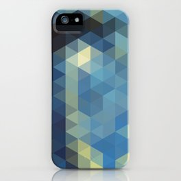 Starry Night Mosaic iPhone Case